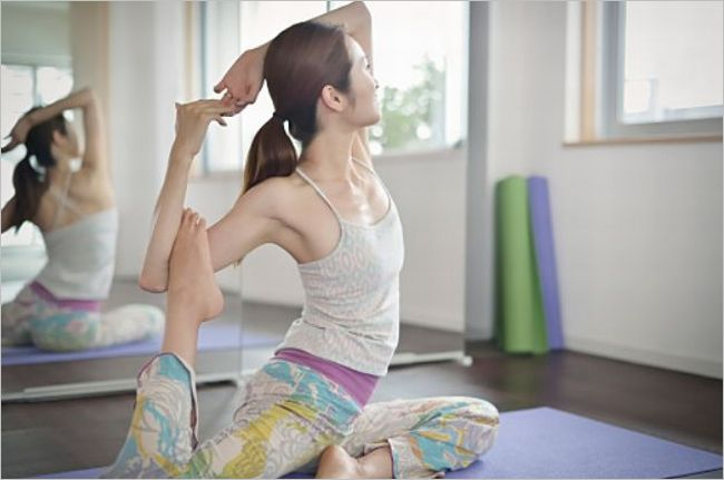 肩関節のストレッチ