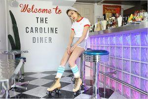 キャロラインダイナーの店内
